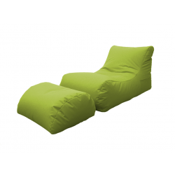 LETTINO CHAISE LONGUE VERDE