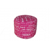 POUF TONDO BIG CITY FUCSIA