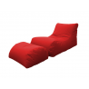 LETTINO CHAISE LONGUE ROSSO