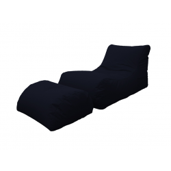 LETTINO CHAISE LONGUE NERO