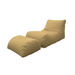 LETTINO CHAISE LONGUE BEIGE