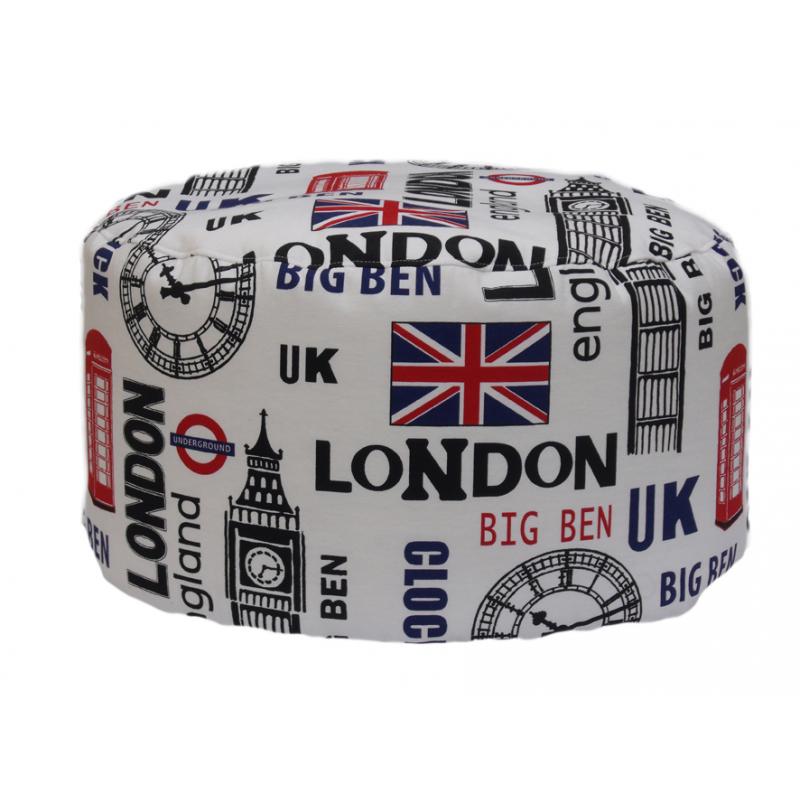 POUF TONDO LONDON
