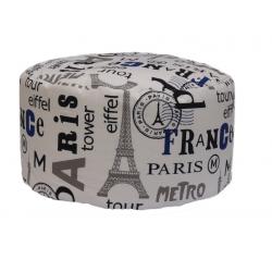 POUF TONDO PARIS