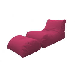 LETTINO CHAISE LONGUE FUCSIA