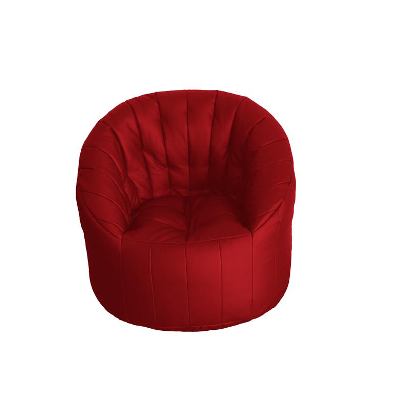 Poltrona Ecopelle Rossa.Poltronasacco Com Furia Srl Poltrona Tortuga Ecopelle Rossa