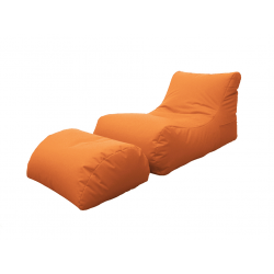 LETTINO CHAISE LONGUE ARANCIO