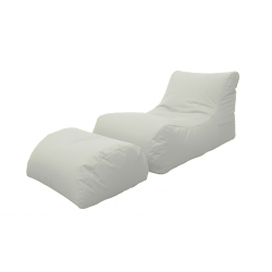 LETTINO CHAISE LONGUE BIANCO