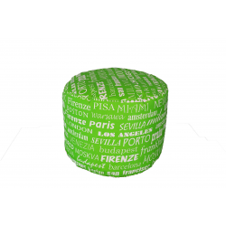 POUF TONDO BIG CITY VERDE